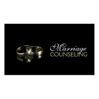 Marriage Counseling Couple Therapist Coach Business Card
