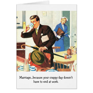 Marriage Disappointment, Card
