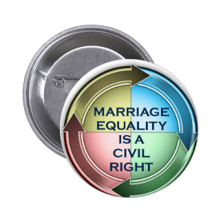 Marriage Equality 2 Inch Round Button
