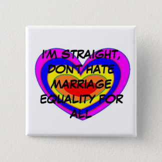 MARRIAGE EQUALITY 2 INCH SQUARE BUTTON