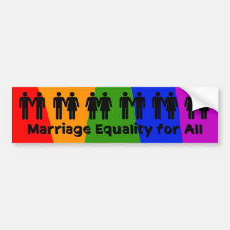 Marriage Equality for All Bumper Sticker