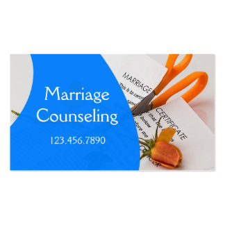 Marriage Family Counseling Pack Of Standard Business Cards
