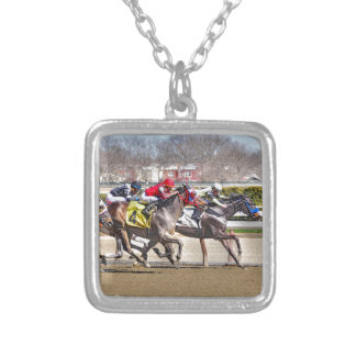 Marriage Fever & Old Upstart Silver Plated Necklace