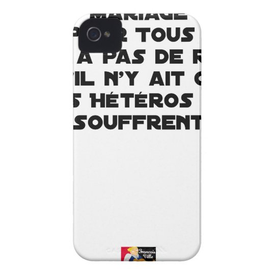 Marriage for All: there is no reason only it iPhone 4 Cover