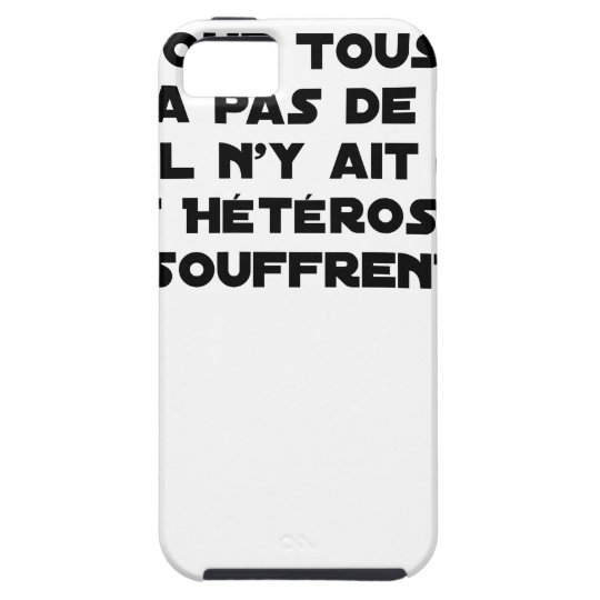 Marriage for All: there is no reason only it iPhone 5 Cases