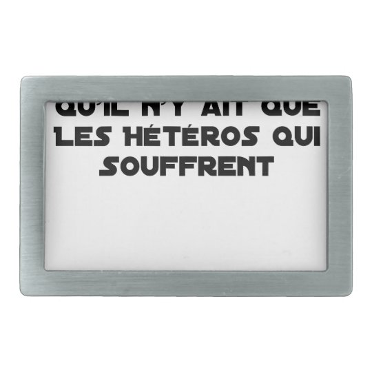 Marriage for All: there is no reason only it Rectangular Belt Buckle