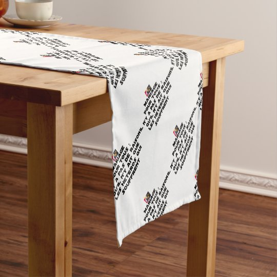 Marriage for All: there is no reason only it Short Table Runner
