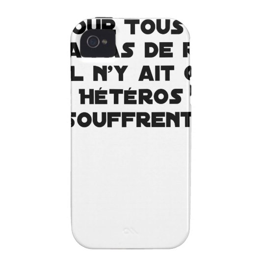 Marriage for All: there is no reason only it Vibe iPhone 4 Cover