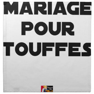 MARRIAGE FOR TUFTS - Word games Napkin