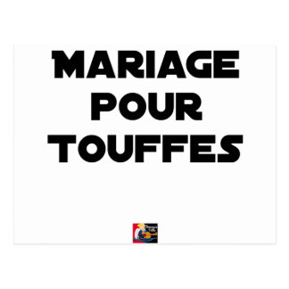 MARRIAGE FOR TUFTS - Word games Postcard