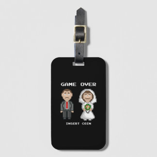 Marriage - Game Over Bag Tag
