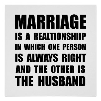 Marriage Husband Poster