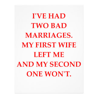 MARRIAGE LETTERHEAD