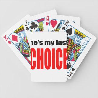 marriage marry joke couple hesmylastchoice  wife h poker deck