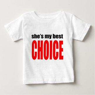 marriage marry joke couple shesmybestchoice wife h baby T-Shirt
