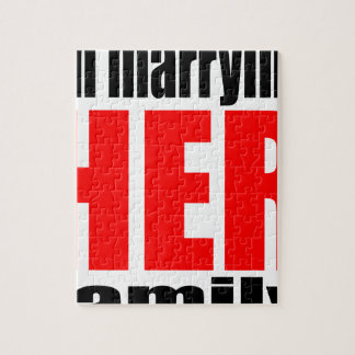 marriage marrying her family joke qoute bridal new puzzles