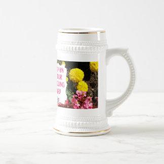 Marriage memories; Joy on your wedding day Beer Stein