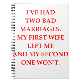 MARRIAGE NOTEBOOK