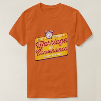 Marriage of Convenience Store / color T-shirt