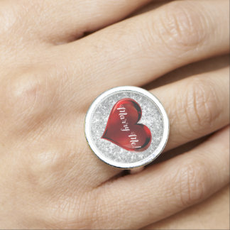 Marriage Proposal Heart Ring