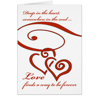 Marriage Proposal , Love Finds a Way to Be Forever Card