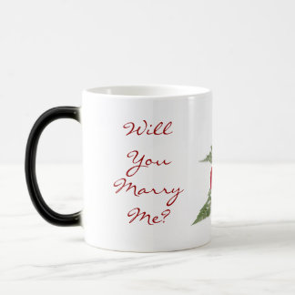 Marriage Proposal Morphing Mug
