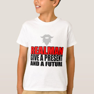marriage realman future groom bride christmas part T-Shirt