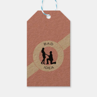 Marriage,run away from this. pack of gift tags