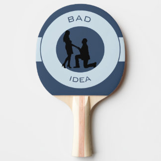 Marriage,run away from this! ping pong paddle