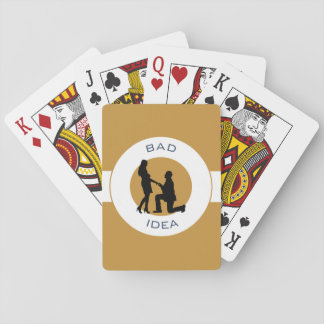 Marriage,run away from this! playing cards