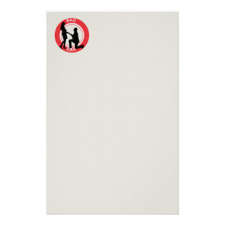 Marriage,run away from this! stationery
