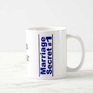Marriage Secret ... Classic White Coffee Mug