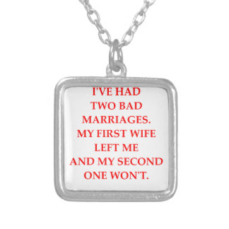 MARRIAGE SILVER PLATED NECKLACE