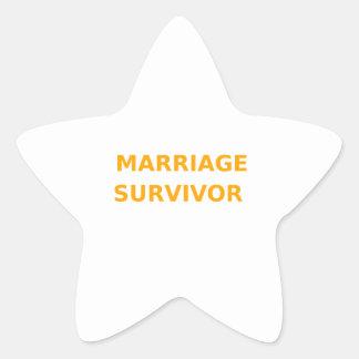 Marriage Survivor - 2 - Orange Sticker