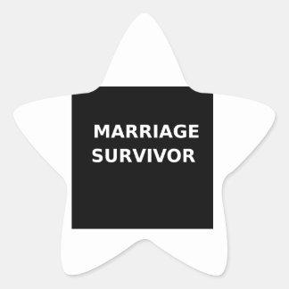 Marriage Survivor - 2 - White Sticker