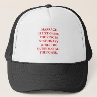 MARRIAGE TRUCKER HAT