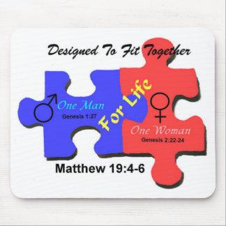 MarriageMousePad Mouse Pad