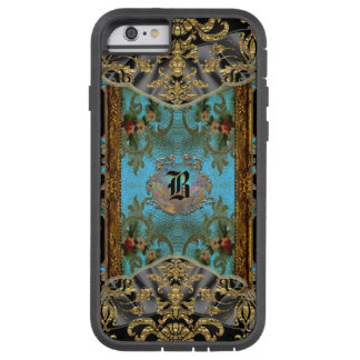 Marrie  Victorian Pattern V Monogram Tough Xtreme iPhone 6 Case