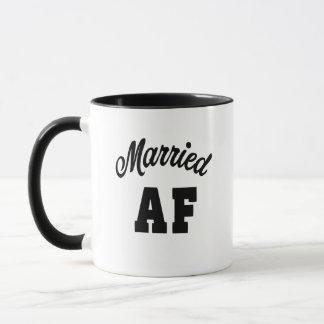 Married AF coffee mug