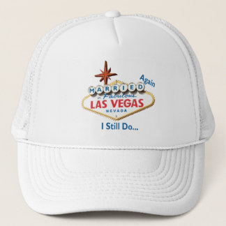 Married AGAIN Las Vegas Hat