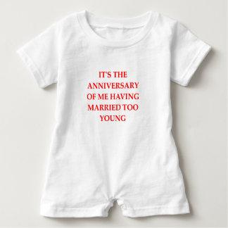 MARRIED BABY ROMPER
