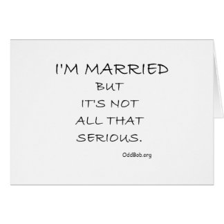 Married Card
