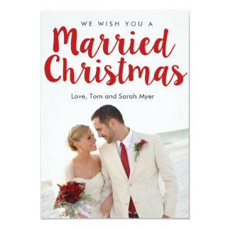 Married Christmas | Christmas Card