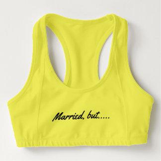 married, goal…. sports bra