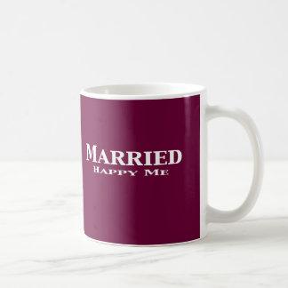 Married Happy Me Gifts Coffee Mug