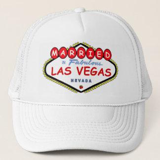 MARRIED In  Las Vegas Cherry logo cap