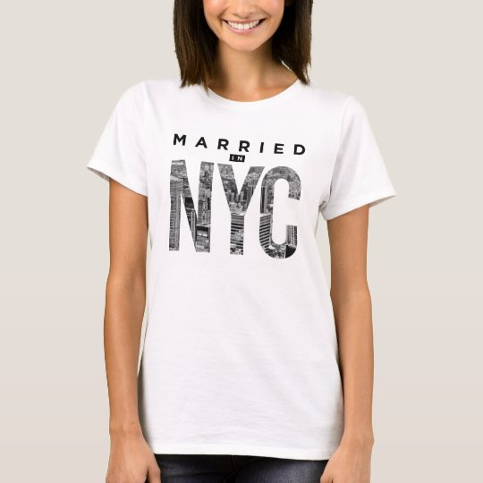 Married in NYC tee