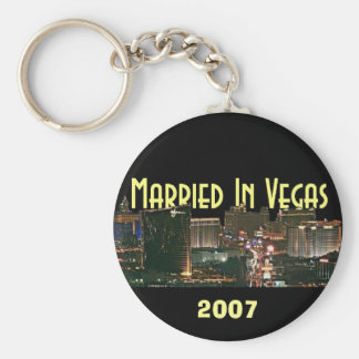 Married In Vegas 2997 Keychain