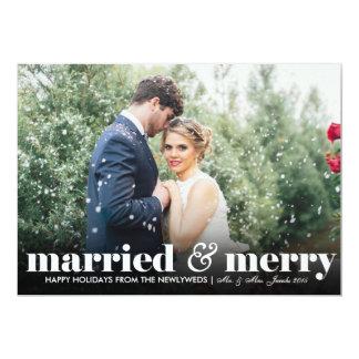 Married & Merry | Weddings | Christmas Card
