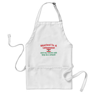 Married to a Lebanese Standard Apron
